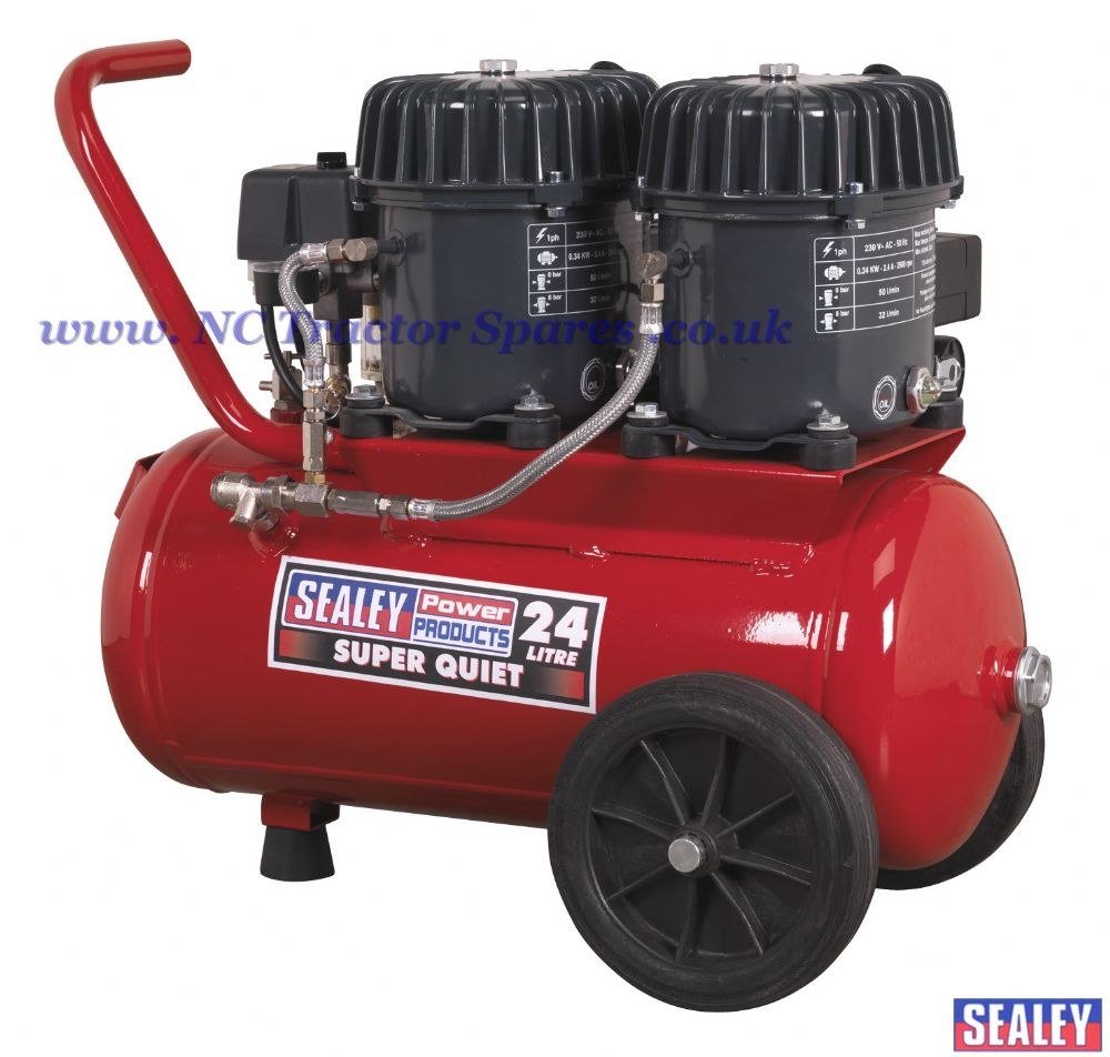 Compressor 24ltr Super Quiet 0.92hp